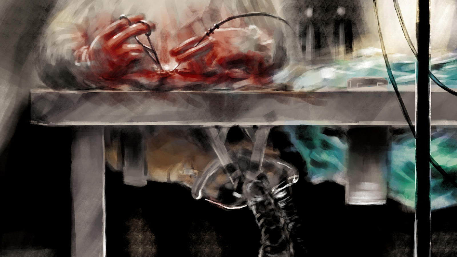 Concept Art - Surgery