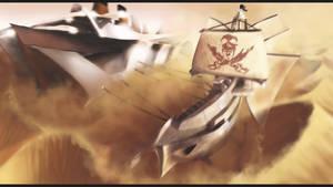 Sand Pirate Vessel