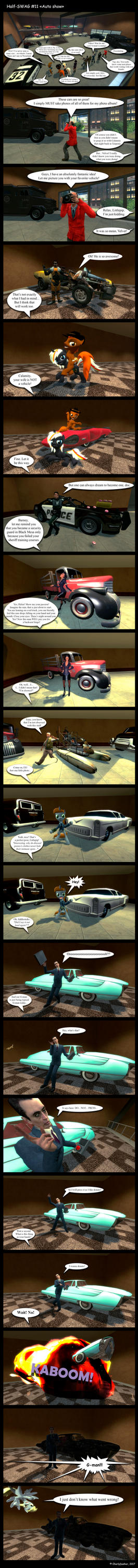 Half-SWAG #11 - Auto show [ENG] by CharlyDasher