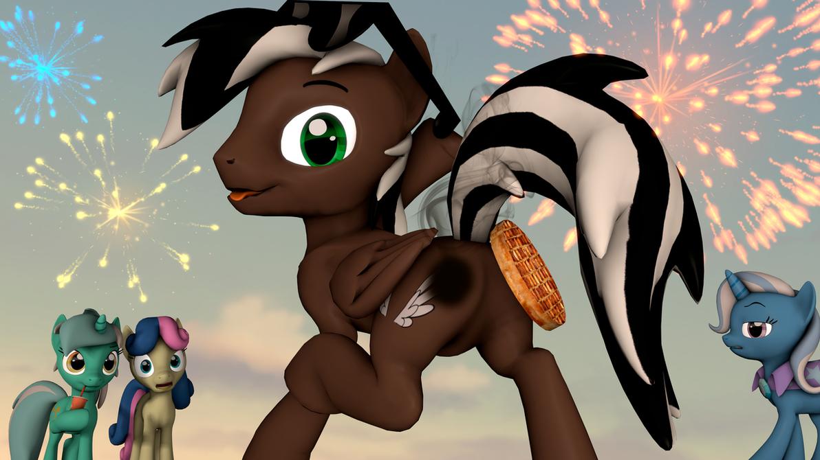 Happy Birthday, waffle-butt! by CharlyDasher