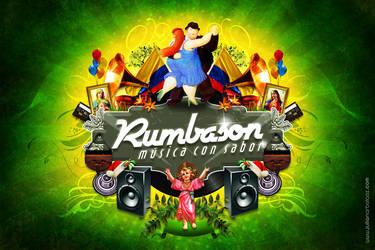 Afiche Rumbason by JulianArbelaez