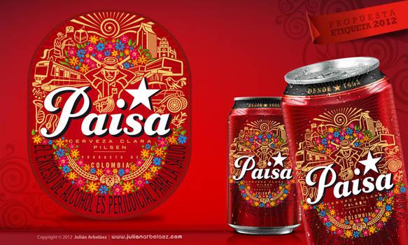 Etiqueta Pilsen 2012