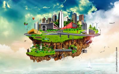 Isla Flotante by JulianArbelaez