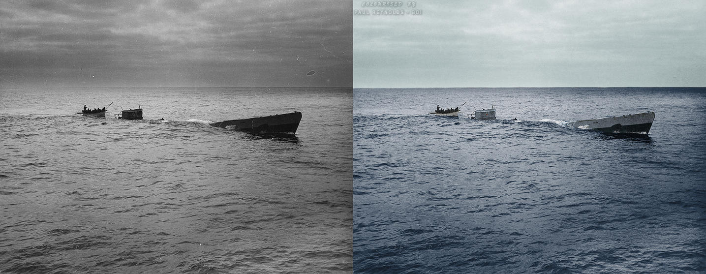 U-175 Final Dive by B-D-I