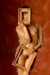 Nettie Framed 5 by JohnRunningsErotica