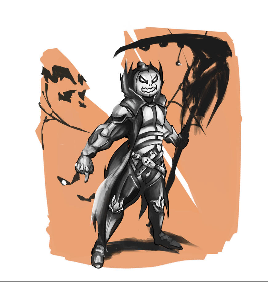 Reaper Halloween Skin by RTsora on DeviantArt