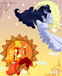 Sun and Moon by Arcania