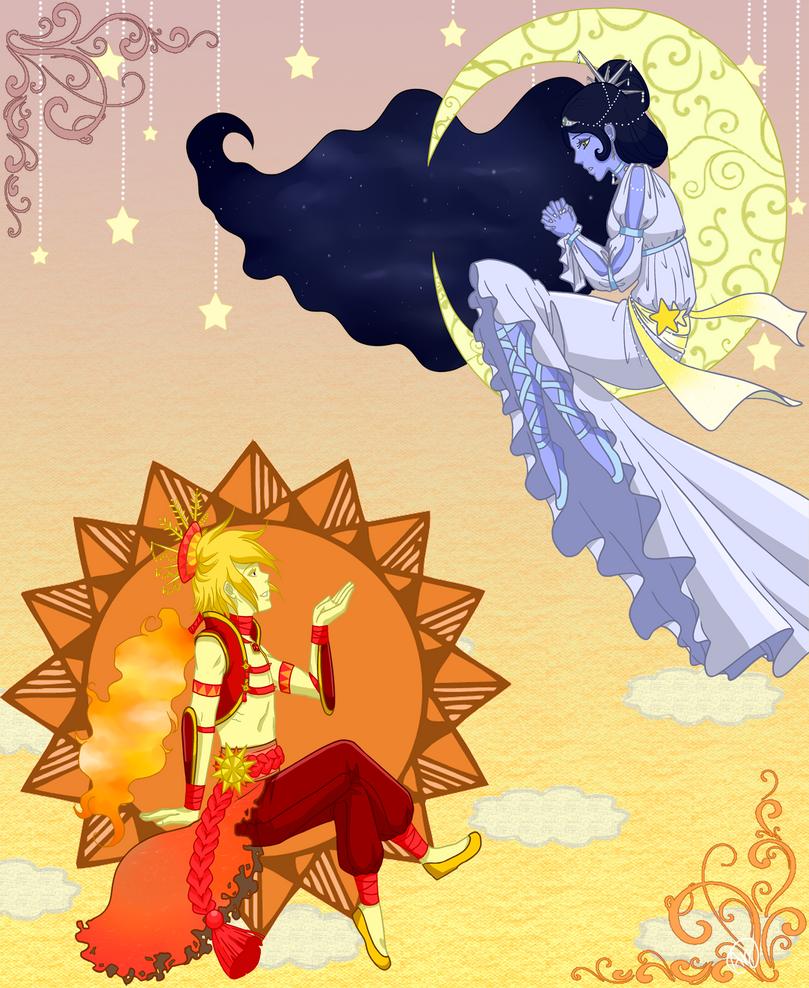 Sun and Moon by Arcania