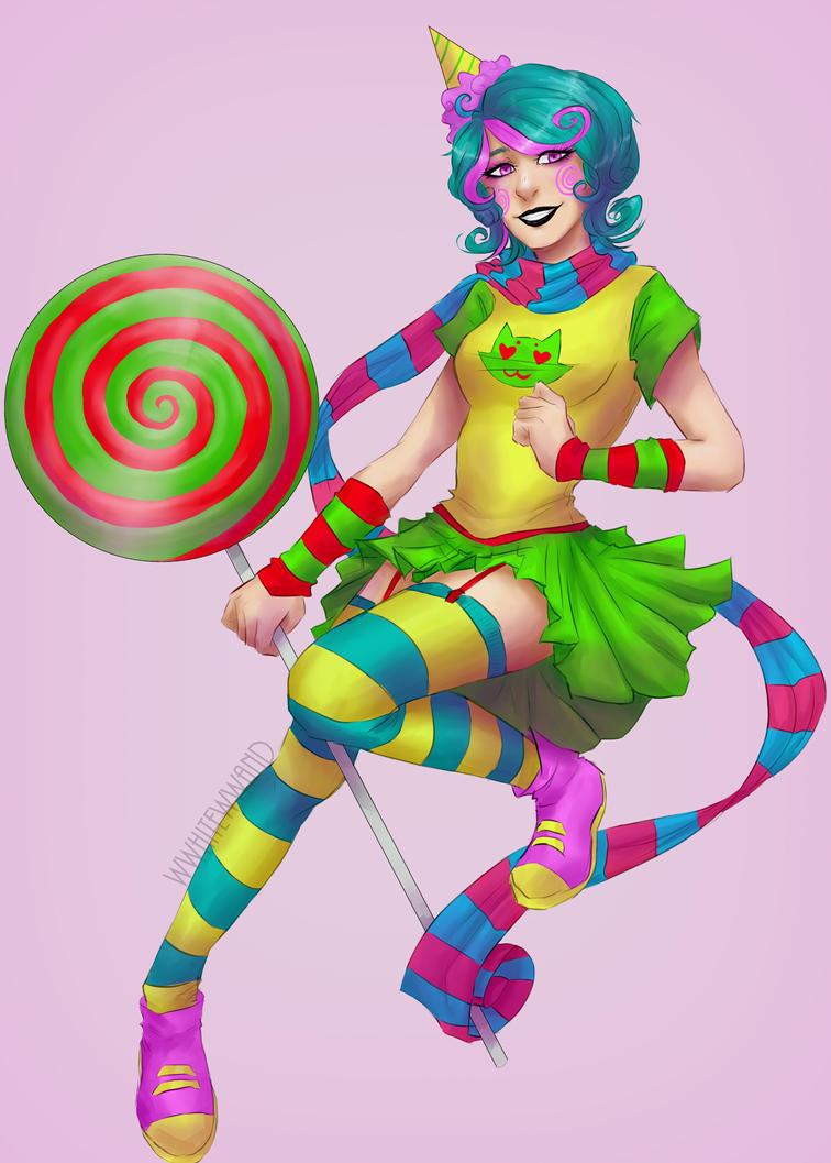trickster!Roxy by wwhitewwand