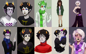 Homestuck art dump