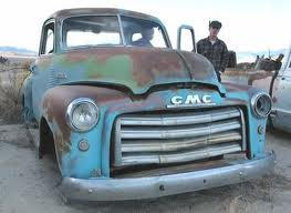GMC 50's grille