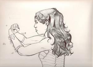 Wonder Woman Fan art of Fan art