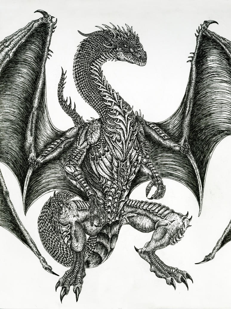 Great Guardian Dragon By WretchedSpawn2012 ...