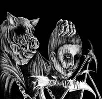 Slaughtered Like Swine by WretchedSpawn2012