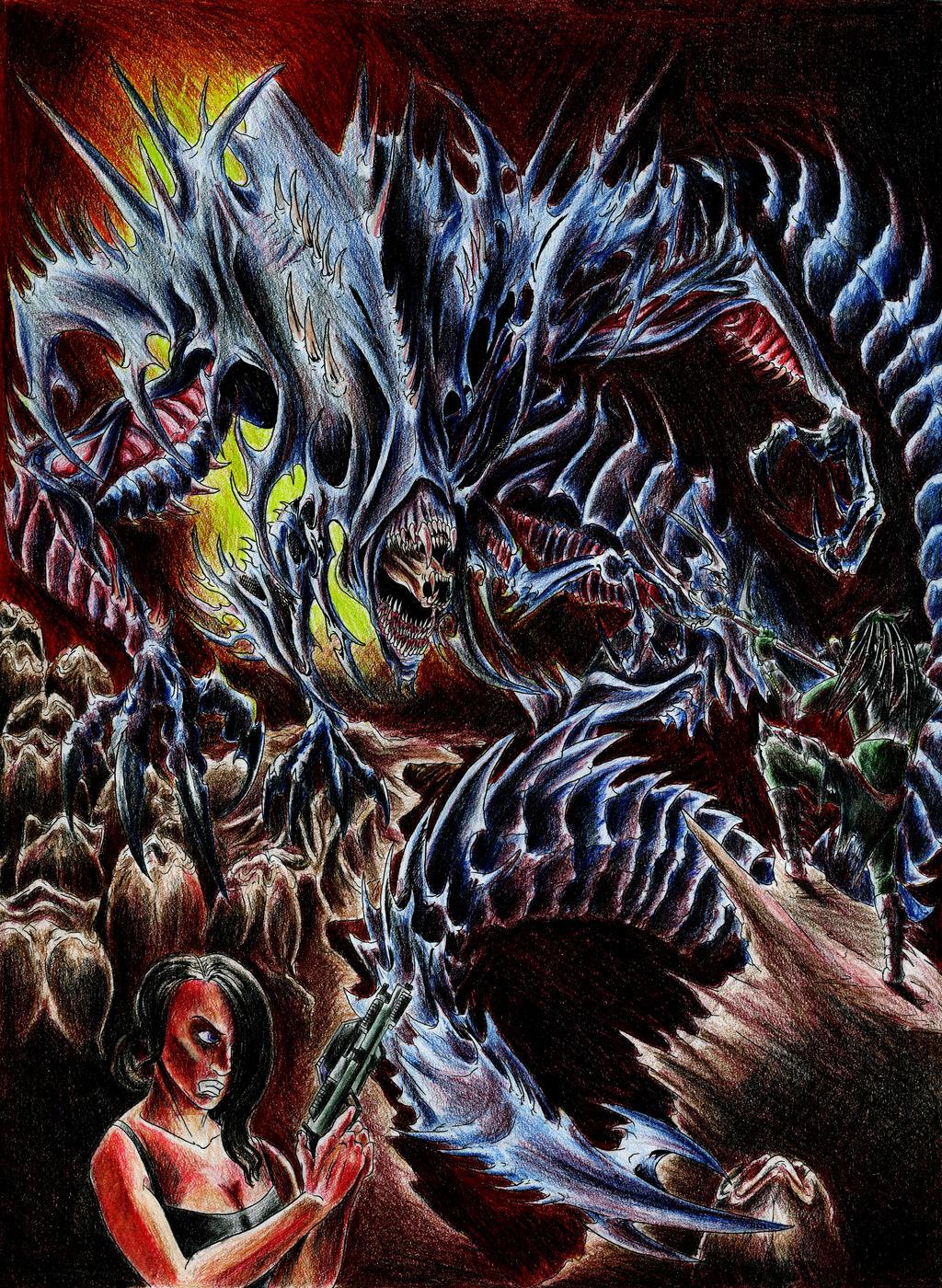 Awakening the Alien King by WretchedSpawn2012 on DeviantArt