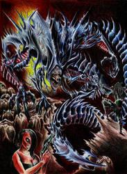 Awakening the Alien King by WretchedSpawn2012