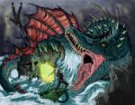 Spinosaurus Attack