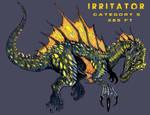 Kaiju - Irritator by WretchedSpawn2012
