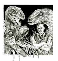 Jurassic World - Raptor Squad by WretchedSpawn2012