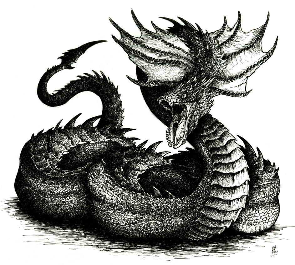 Basilisk Mythical Creature Drawing | www.imgkid.com - The ...
