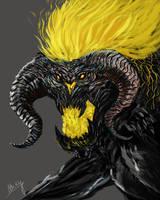Balrog Speedpaint by WretchedSpawn2012