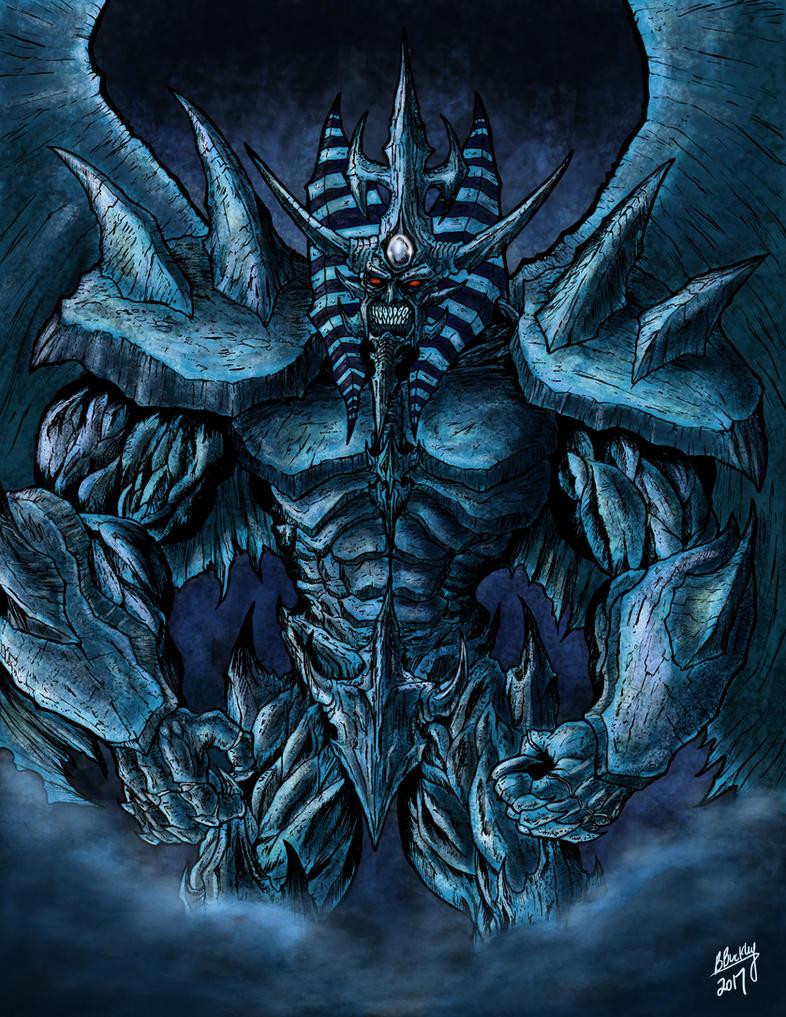 Obelisk the Tormentor by WretchedSpawn2012