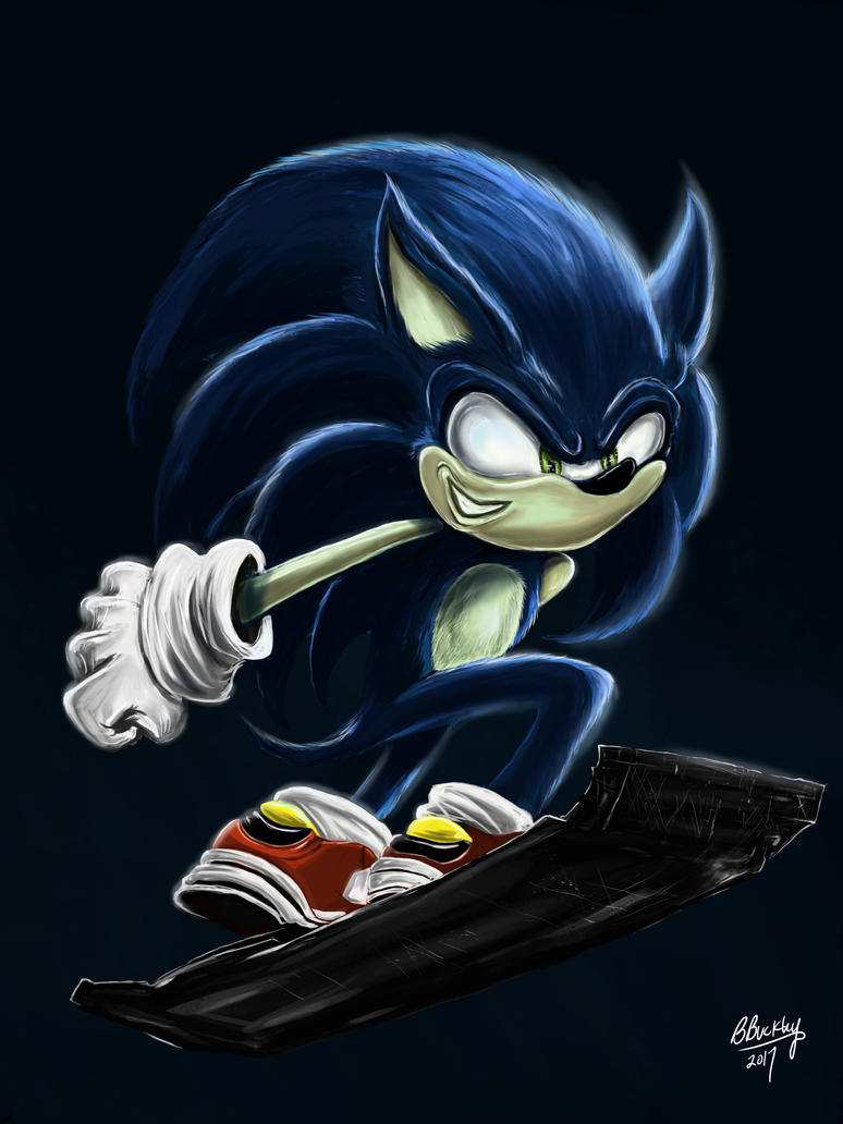 City Escape Sonic by WretchedSpawn2012
