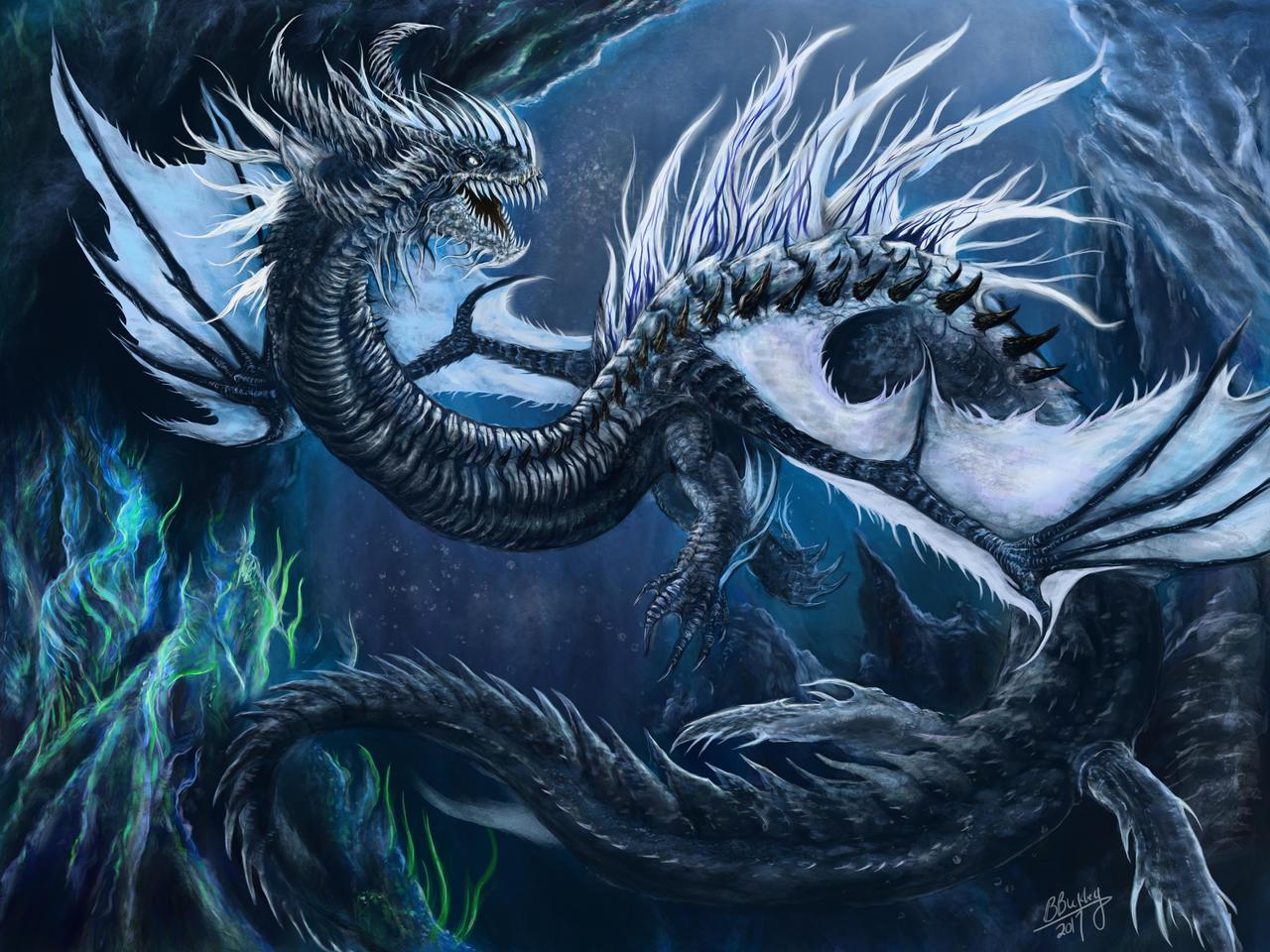 Deep Sea Leviathan by WretchedSpawn2012 on DeviantArt