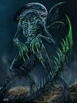 Bloody Xenomorph