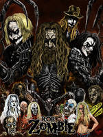 Rob Zombie Legacy Poster by WretchedSpawn2012