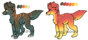 Pupper Flatsale Adopts (Open - Lowered) by sharkkbyte
