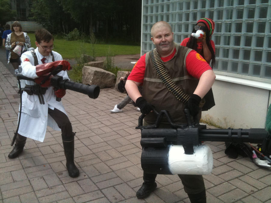 Pyro Tf2 Cosplay Team Fortress 2 cosplay by