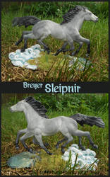 Breyer Sleipnir by tyreenya