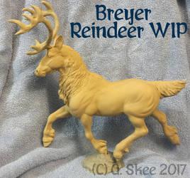 Breyer Reindeer WIP