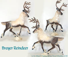 Breyer Reindeer by tyreenya