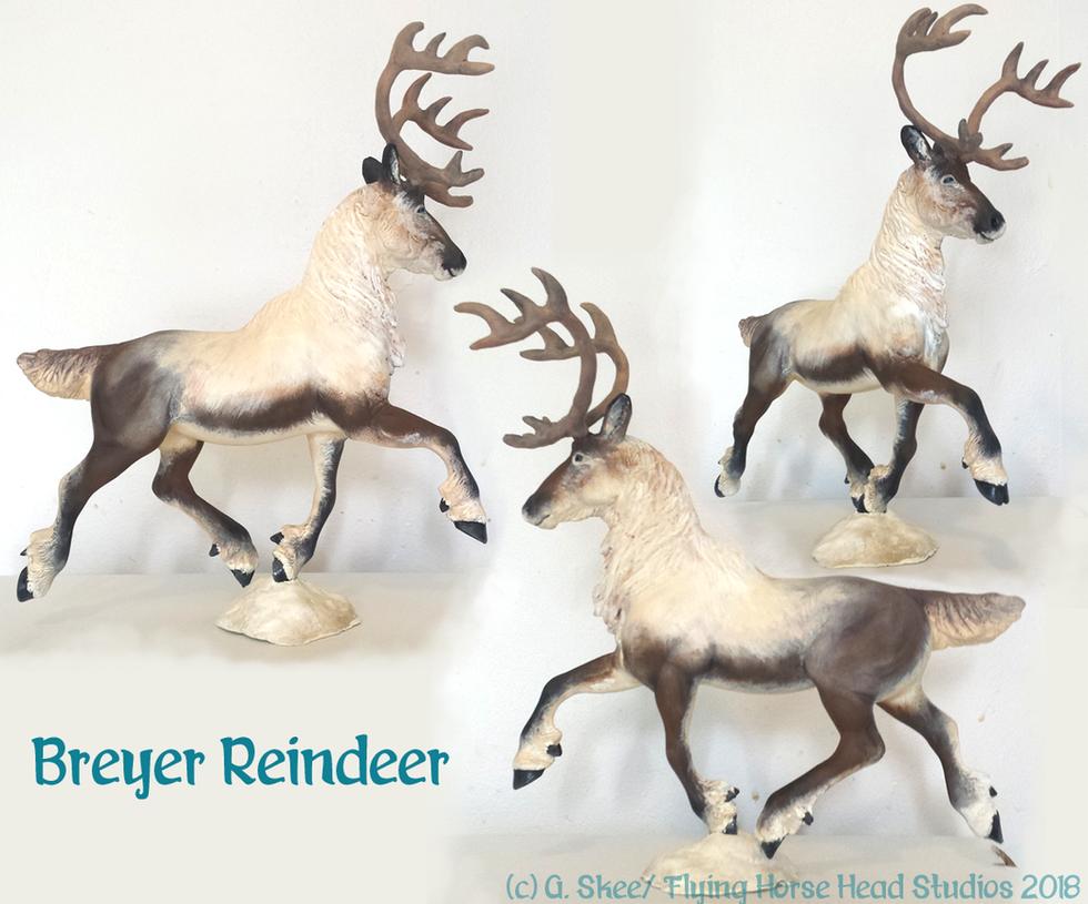 Breyer Reindeer by tyreenya