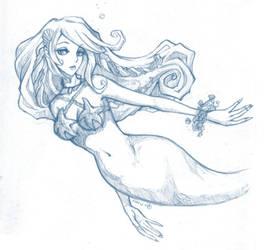 Mermaid Neave sketch by sudoru