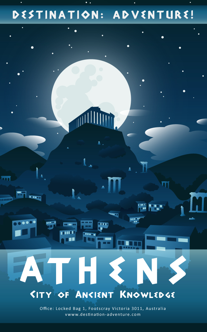 Athens poster by Autumn-Gracy
