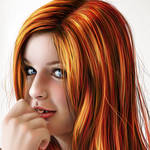 Autumn Orange - closeup