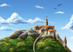 Old Nachod Castle by Pixx-73