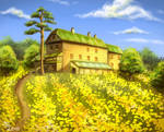 The daffodil's house