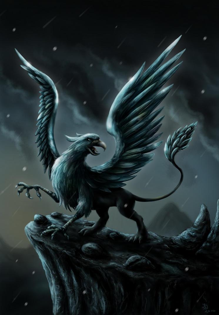Dark Gryphon by Pixx-73