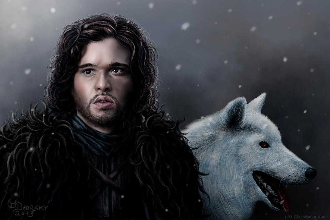 Jon Snow by Pixx-73