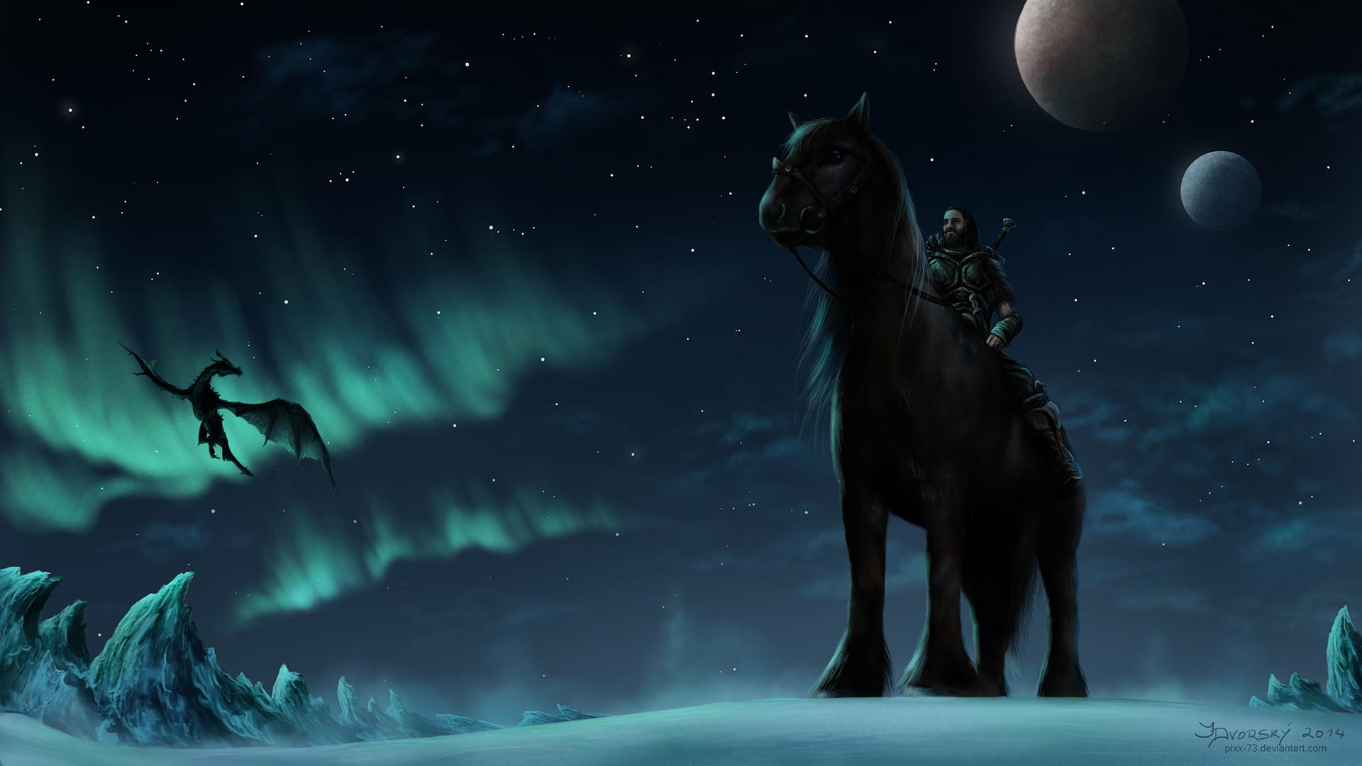 Nights in Skyrim by Pixx-73