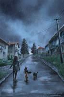 In the Rain by Pixx-73