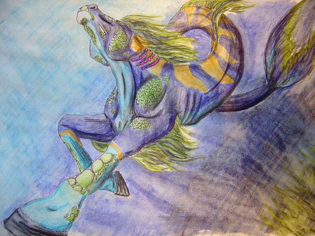 Tidal Kelpi by Azhram