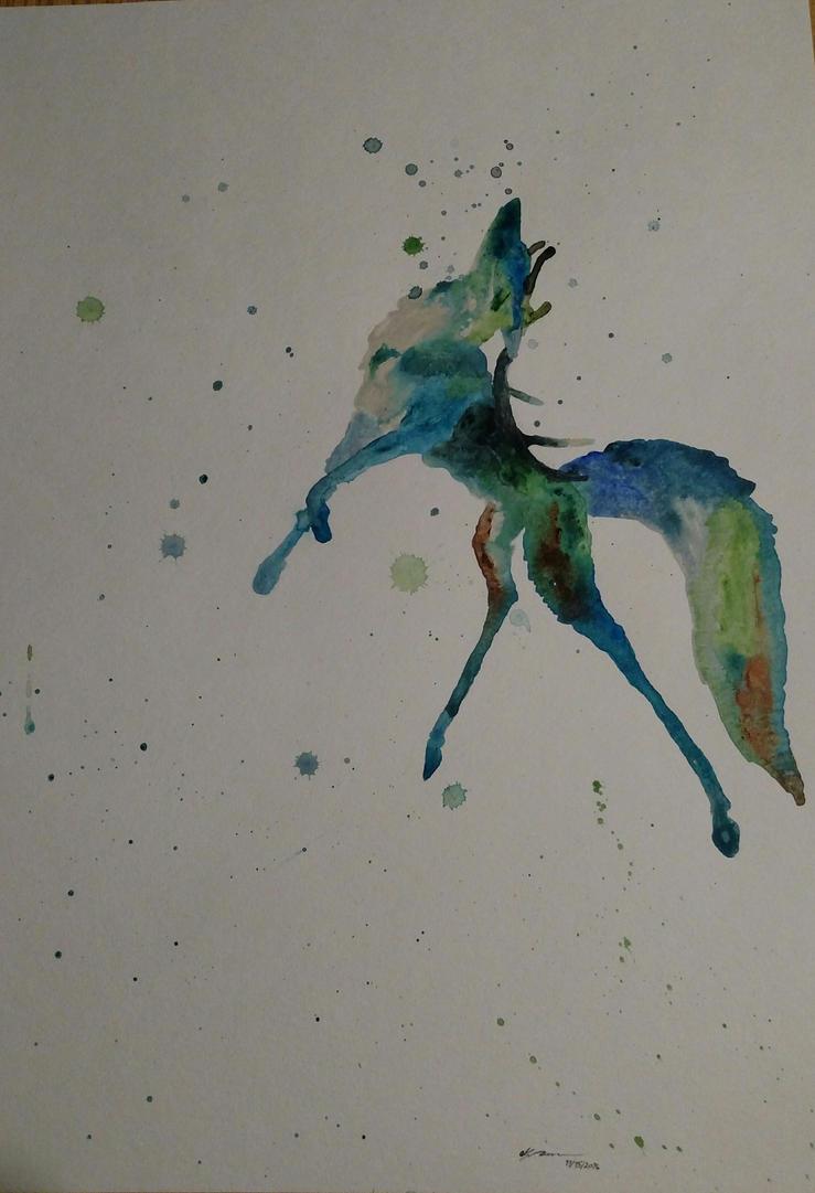 foxy stag by Azhram