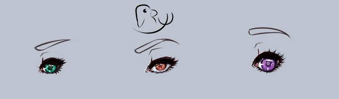 Eyes training by RyuMatsuda