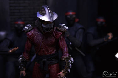 Now you face... The Shredder.
