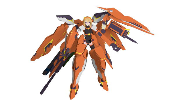 Infinite Stratos - Charlotte Dunois Rafale Revive